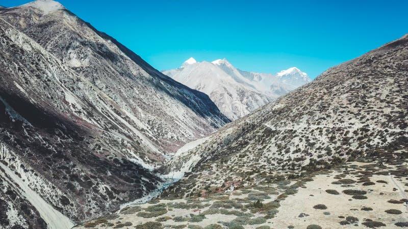 Nepal - Manang Valley royalty free stock image