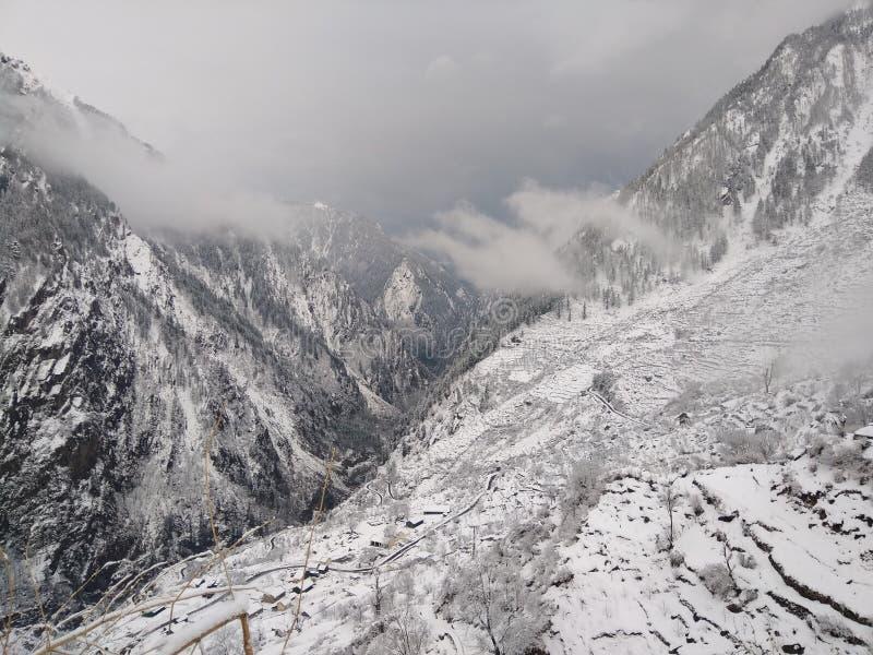 Harshil, Uttarakhand, Indien lizenzfreie stockfotografie