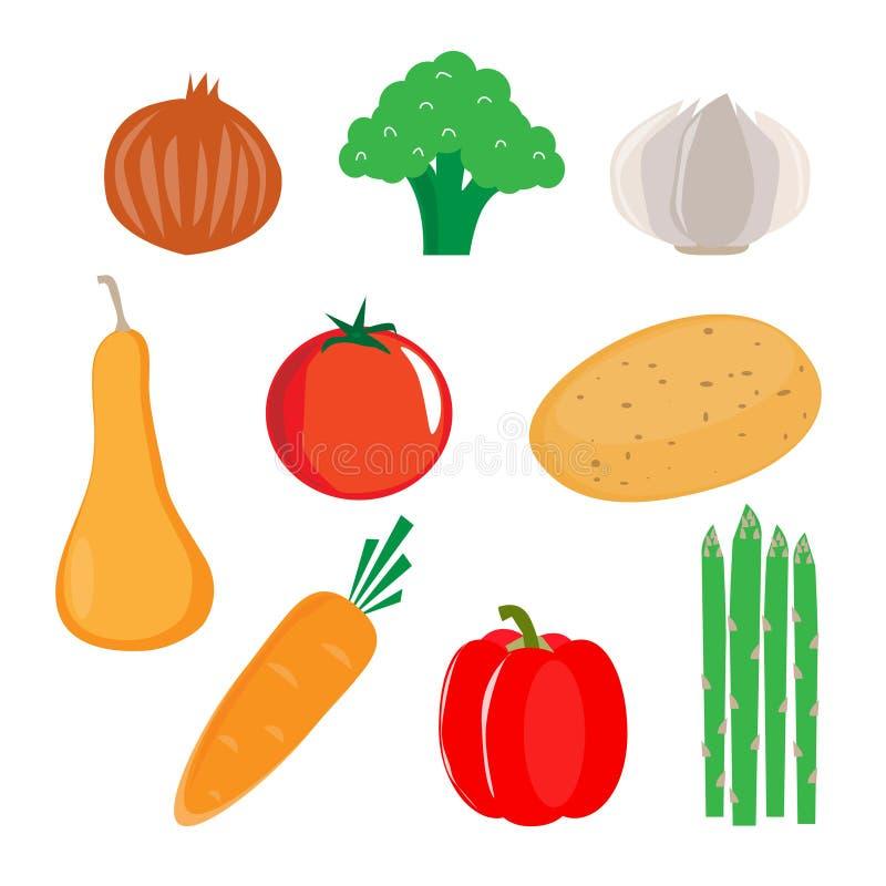 Hart gezonde groente vector illustratie