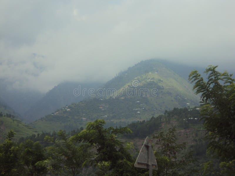 Hart het Raken en Aantrekkelijke Siërra dichtbij Balakot, Pakistan royalty-vrije stock afbeelding
