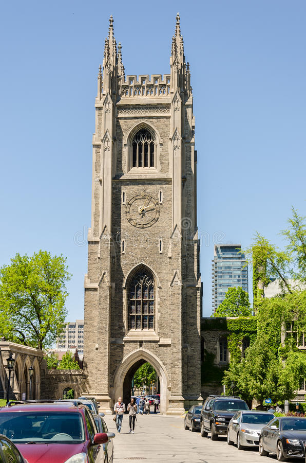 Hart House tower at University of Toronto royalty free stock images