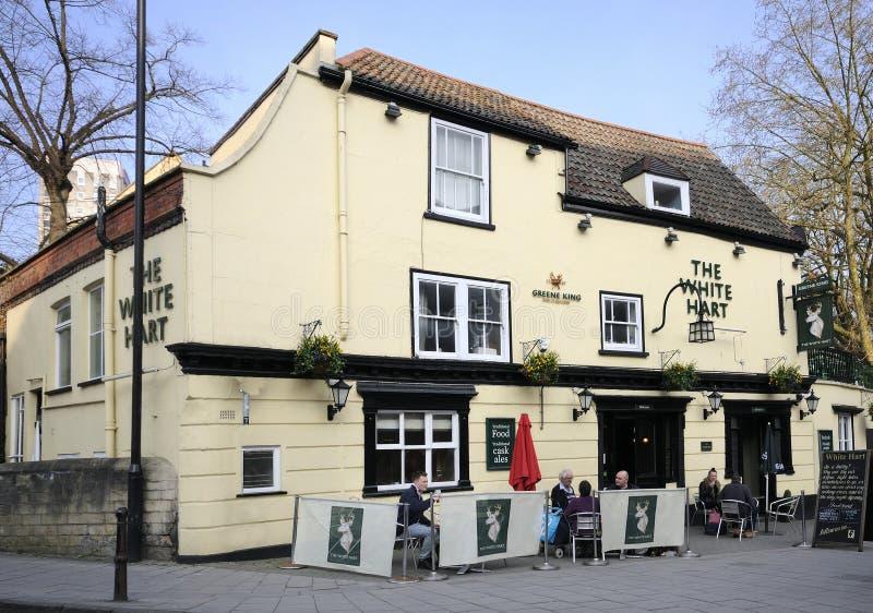 Hart Inn blanco foto de archivo