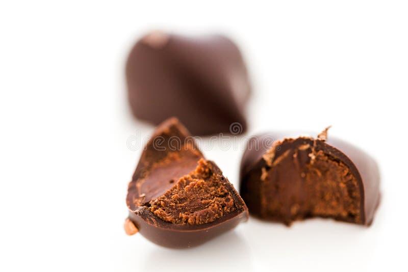 Hart shaped truffle royalty free stock photos