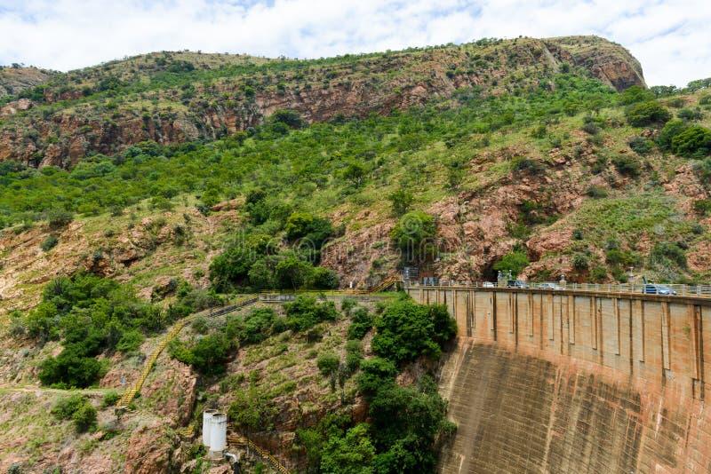 Hartbeespoort fördämning - Sydafrika arkivfoton