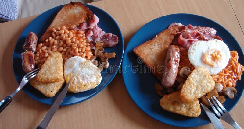 Hartelijk ontbijt royalty-vrije stock afbeelding