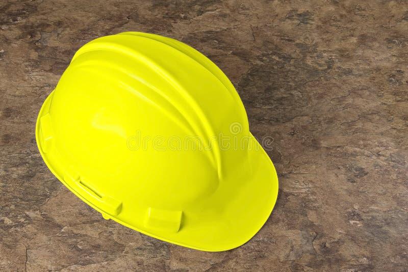 Harter Hut - Gelb lizenzfreies stockbild