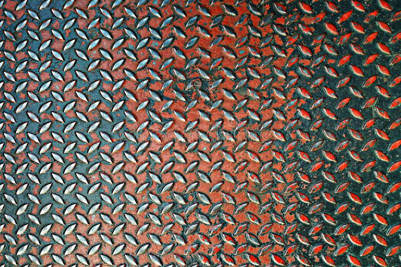 Hartes Chromdiamant-Plattenmuster stockfotos