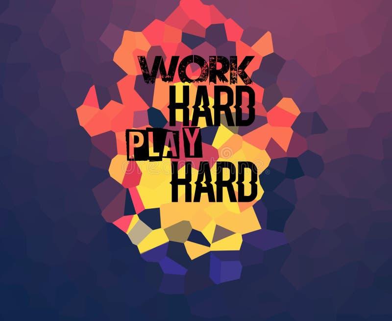 Hartes Spiel der Arbeit hart stockfotos
