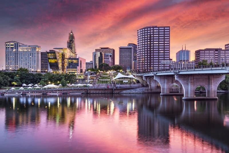 Hartford, Коннектикут стоковая фотография rf