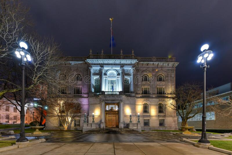 Hartford City Hall - Connecticut stockfoto