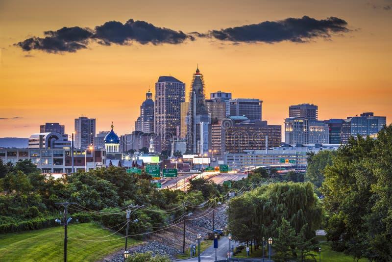 Hartford Connecticut lizenzfreie stockfotos