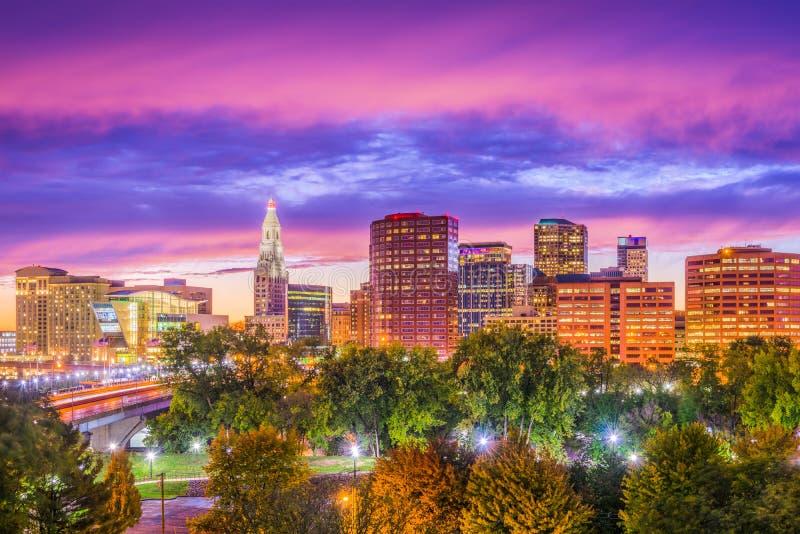 Hartford, Connecticut, de V.S. stock foto's