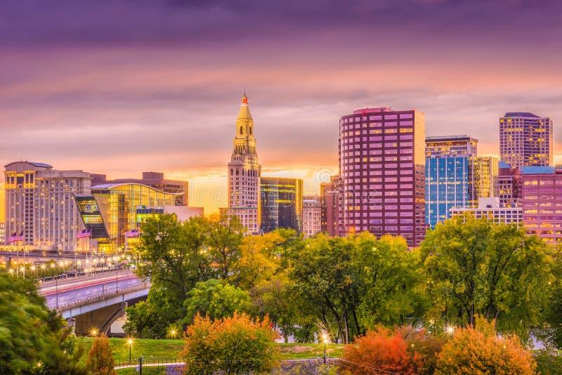 Hartford, Connecticut, EUA fotos de stock royalty free