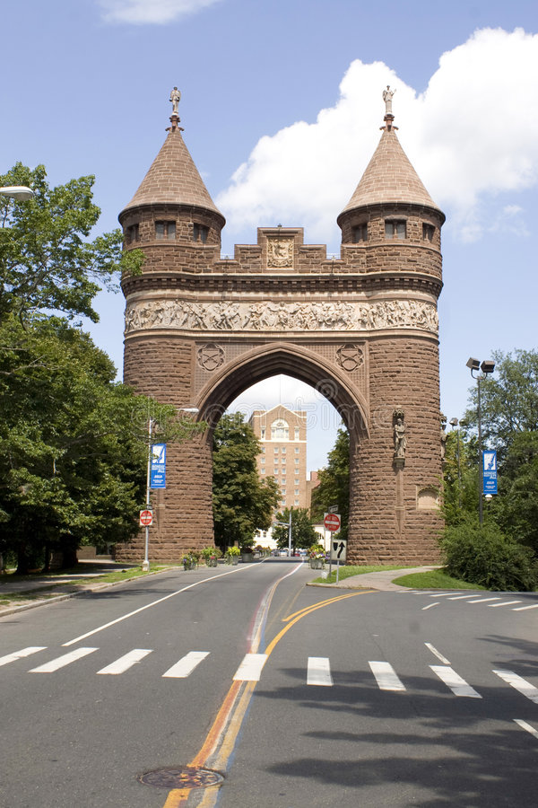 Hartford-Denkmal-Bogen lizenzfreies stockbild