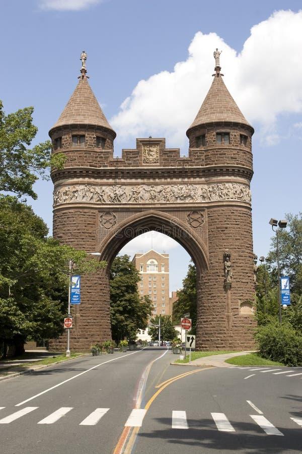 Hartford-Denkmal-Bogen stockfotos