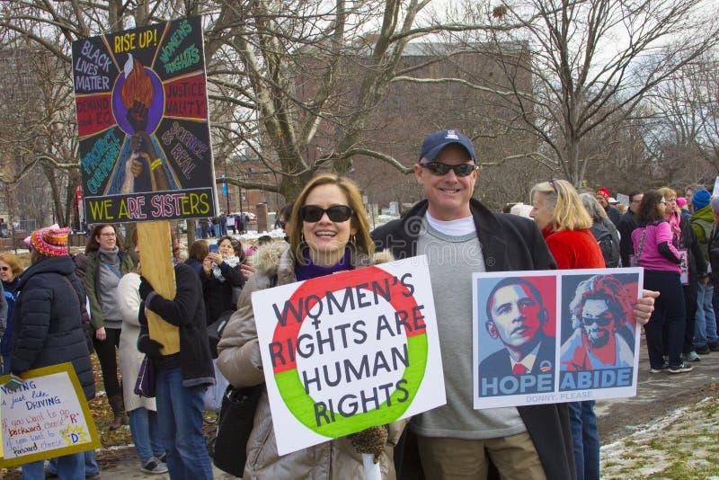 Hartford femmes ` s en mars 2018 photos stock
