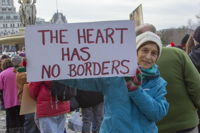 Hartford femmes ` s en mars 2018 image libre de droits
