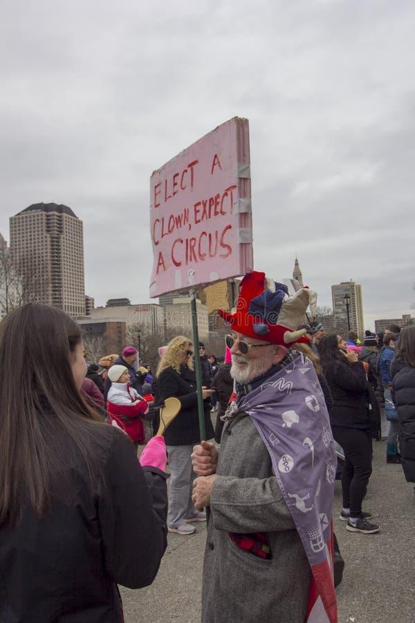 Hartford-Frauen im März 2019 lizenzfreies stockfoto
