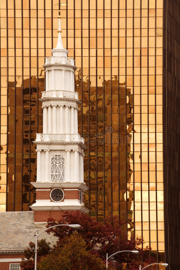 Hartford-Grenzstein lizenzfreies stockbild