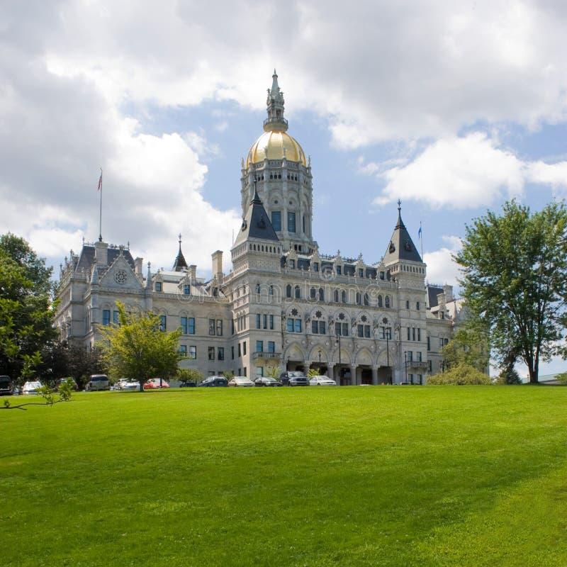 Hartford-Kapitol-Gebäude lizenzfreie stockfotografie