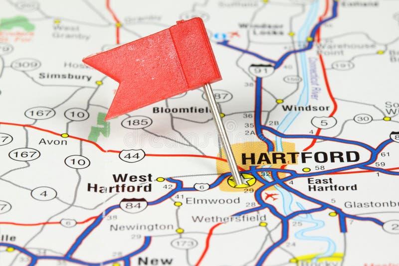 Hartford, le Connecticut image stock