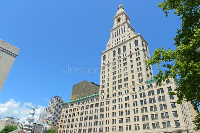 Hartford-Reisend-Turm, Connecticut, USA lizenzfreie stockfotos
