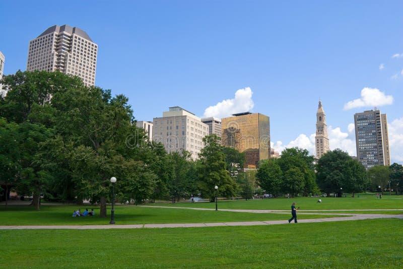 Hartford-Skyline stockbild
