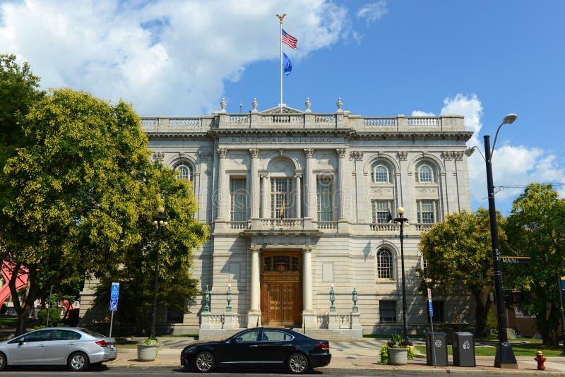 Hartford urząd miasta, Connecticut, usa fotografia royalty free