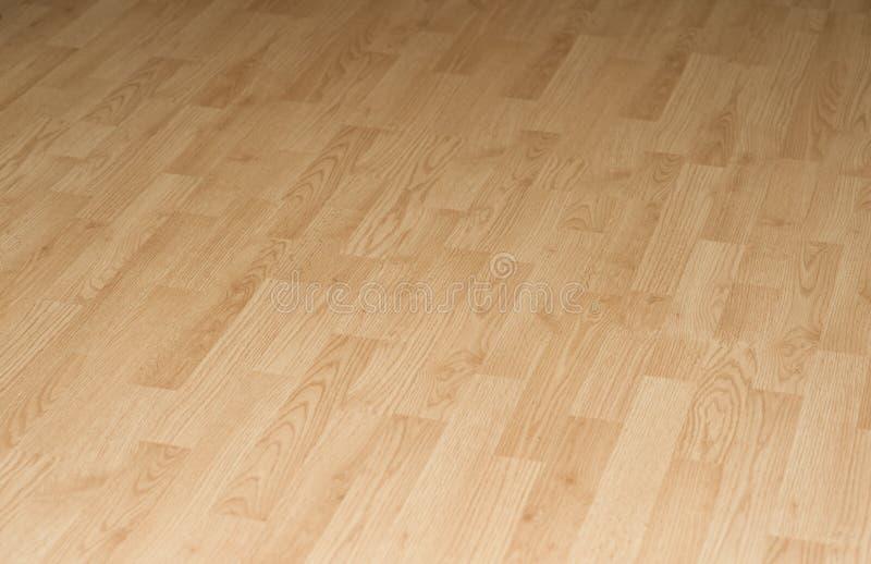 Hartholz-lamellenförmig angeordneter Bodenbelag lizenzfreies stockfoto
