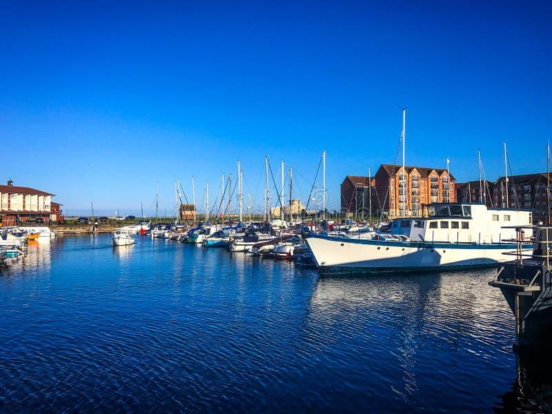 Hartlepool Marina obrazy royalty free