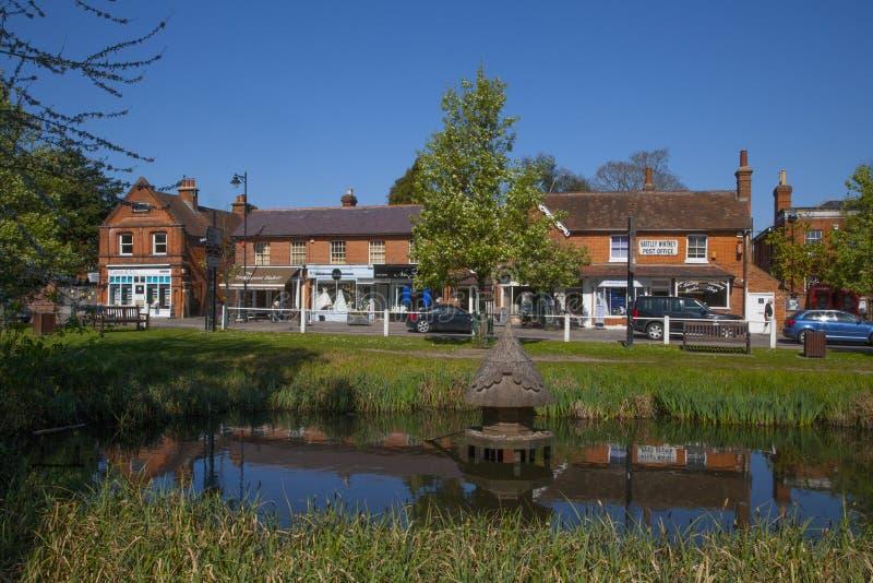Hartley Wintney, Hampshire, Engeland royalty-vrije stock afbeelding