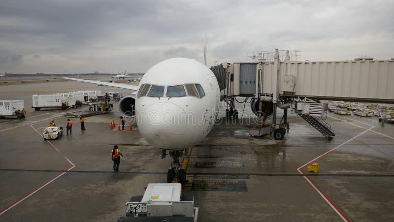 "Hartsfield†""Jackson Atlanta International Airport royalty-vrije stock foto"
