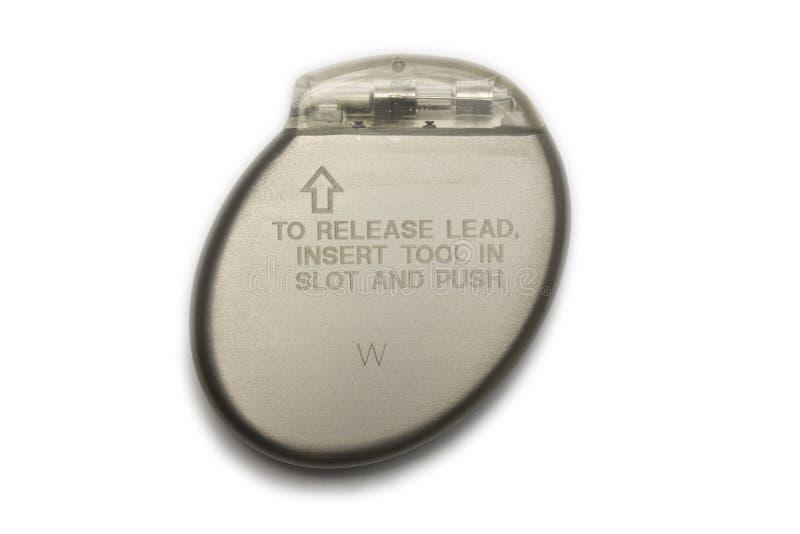 Hartstimulator stock afbeelding