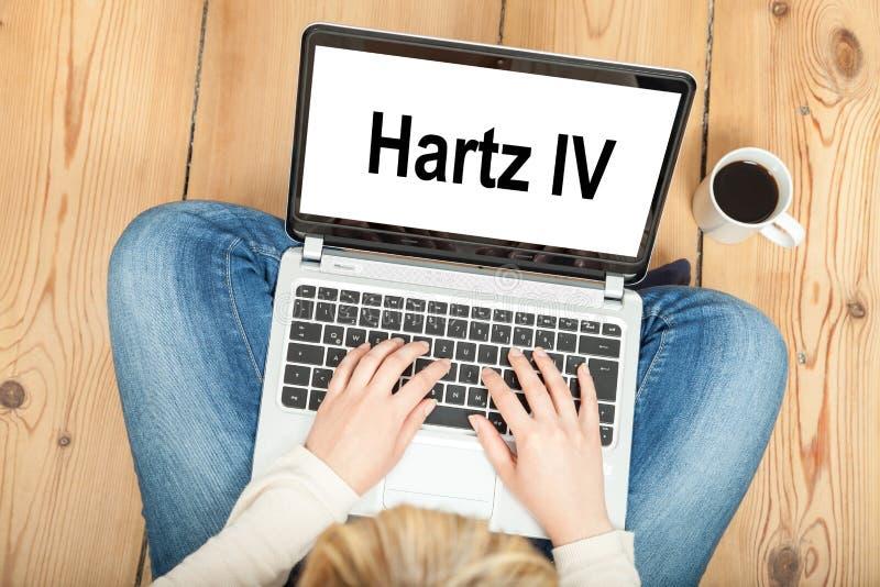 Hartz IV imágenes de archivo libres de regalías