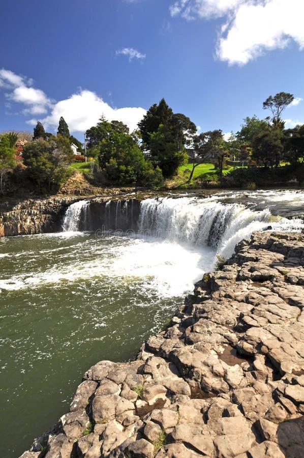 Haruru tombe le Nouvelle-Zélande image libre de droits