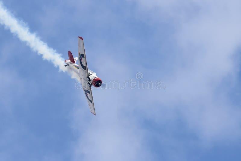 Harvard dans Airshow photographie stock libre de droits