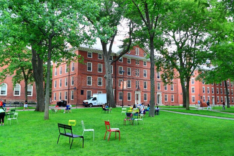 Harvard jard fotografia royalty free