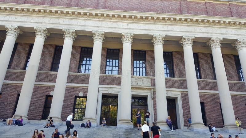 Harvard Library royalty free stock photo