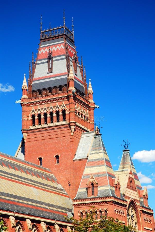 Мемориальный Hall, Гарвардский университет, Кембридж, МАМЫ стоковое фото