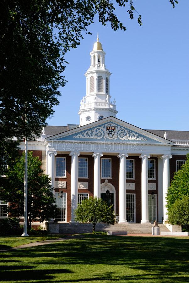 Harvard-Wirtschaftsschule lizenzfreies stockfoto