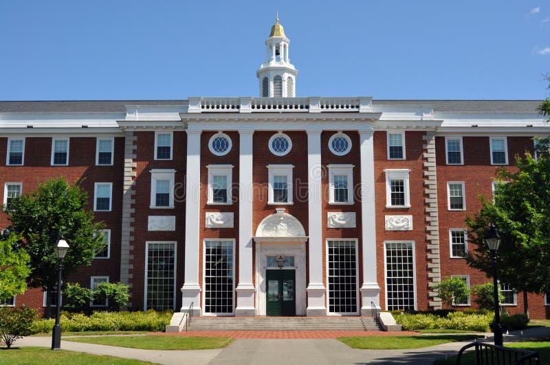 Harvard-Wirtschaftsschulecampus lizenzfreies stockbild