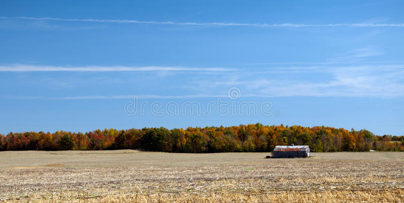 Download After the Harvest stock photo. Image of corn, rural, barn - 27377652