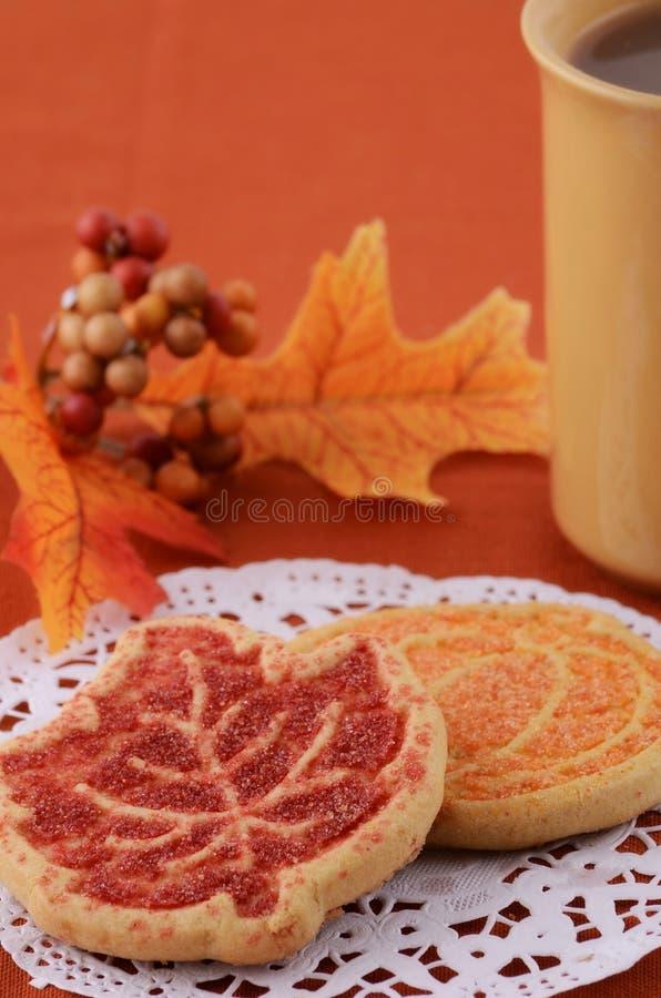 Download Harvest cookies stock image. Image of leaves, vertical - 26591897