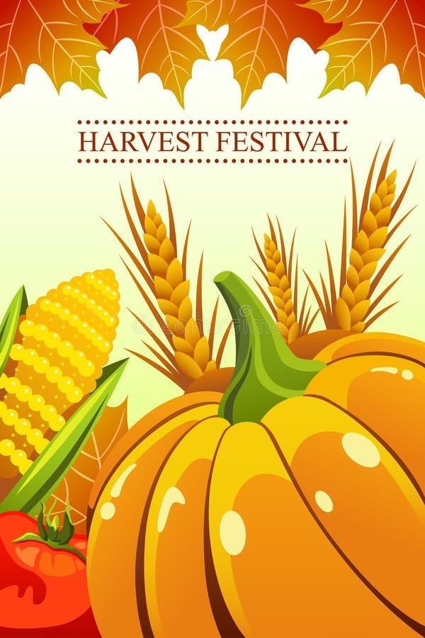 Harvest Festival Background. A vector illustration of harvest festival background vector illustration