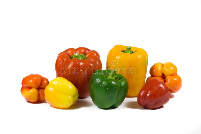 The harvest of natural vegetables produced in rural areas. royalty free stock photo