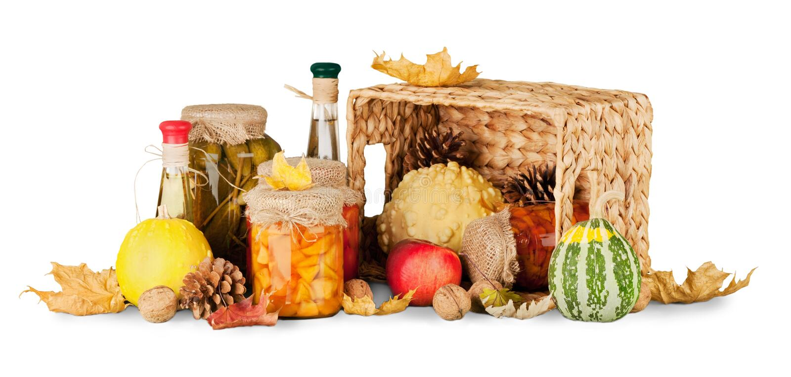 Harvest, season, advertisement and autumn concept royalty free stock photography