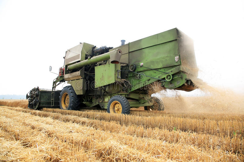 Harvester stock images