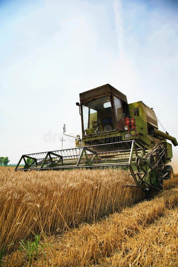 Harvester royalty free stock images