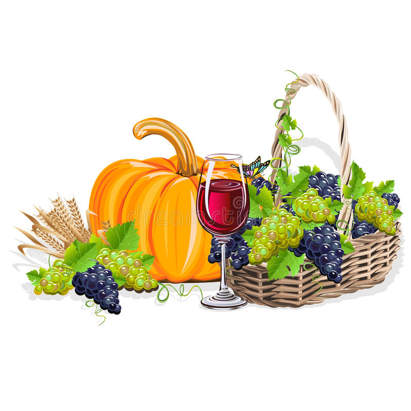Download Harvesting Realistic Still Life Stock Vector - Image: 98927809
