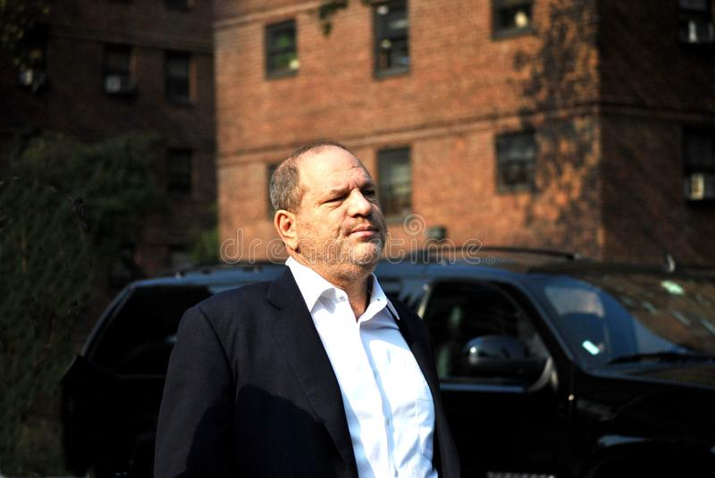 Harvey Weinstein obraz royalty free